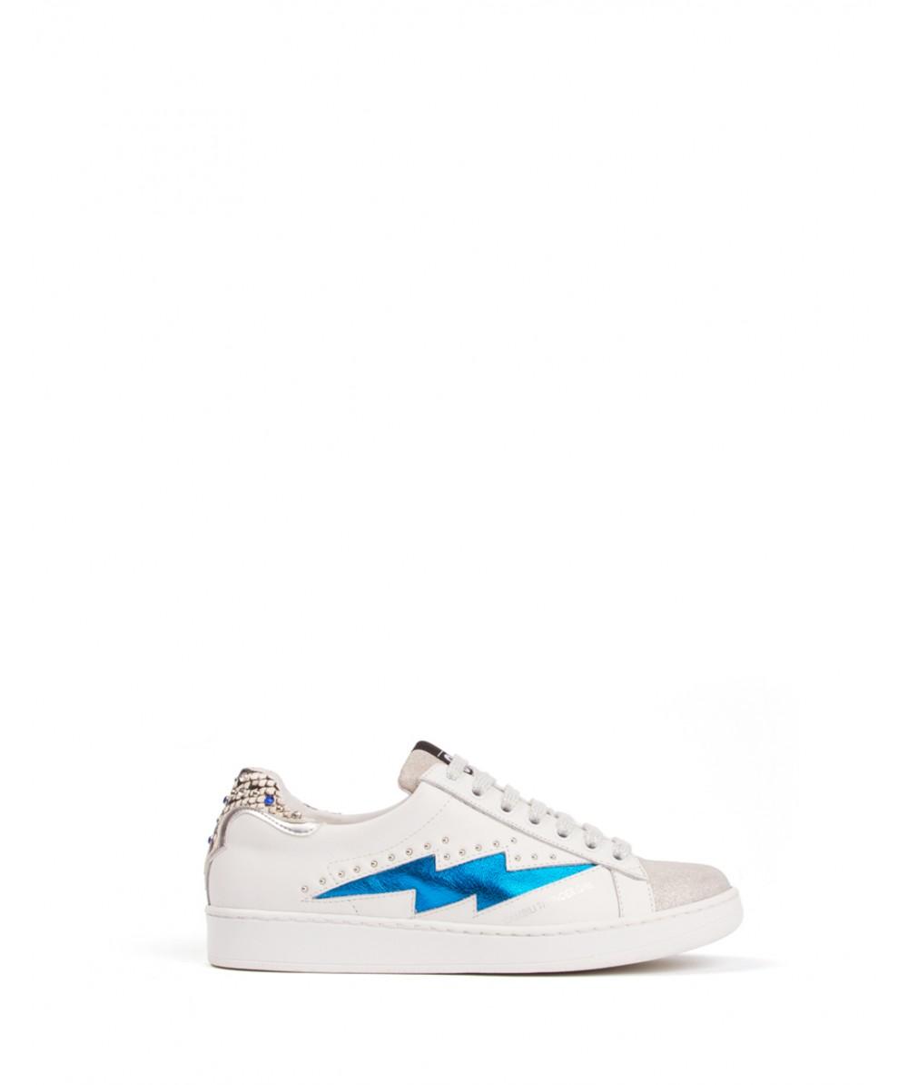 Sneakers Thunder Girl Silver Blue