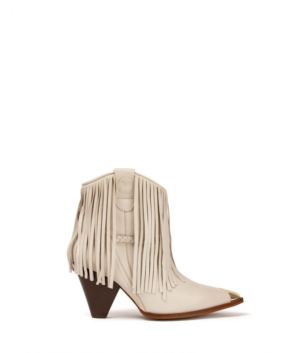 Texan Boot White