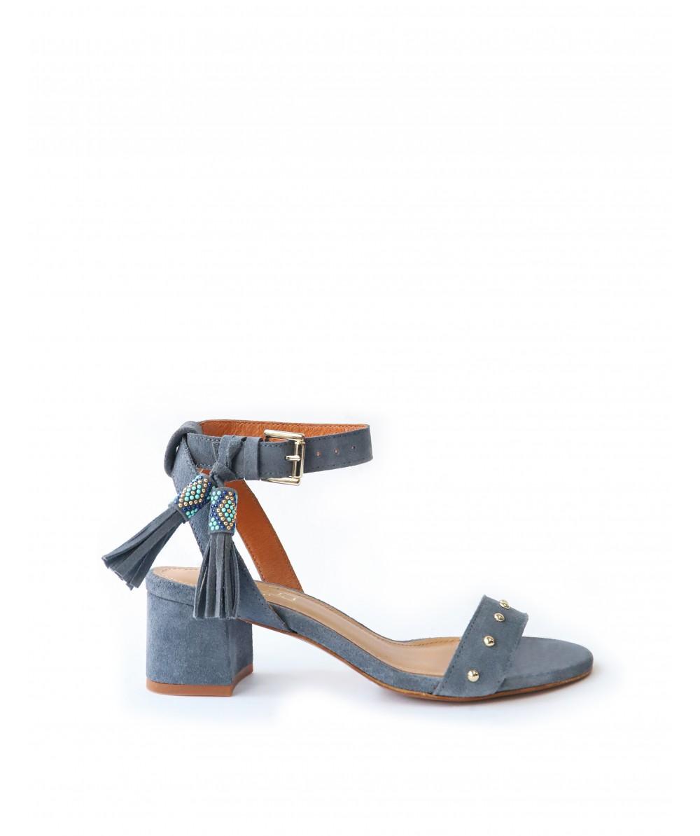 Cecile blue Sandals