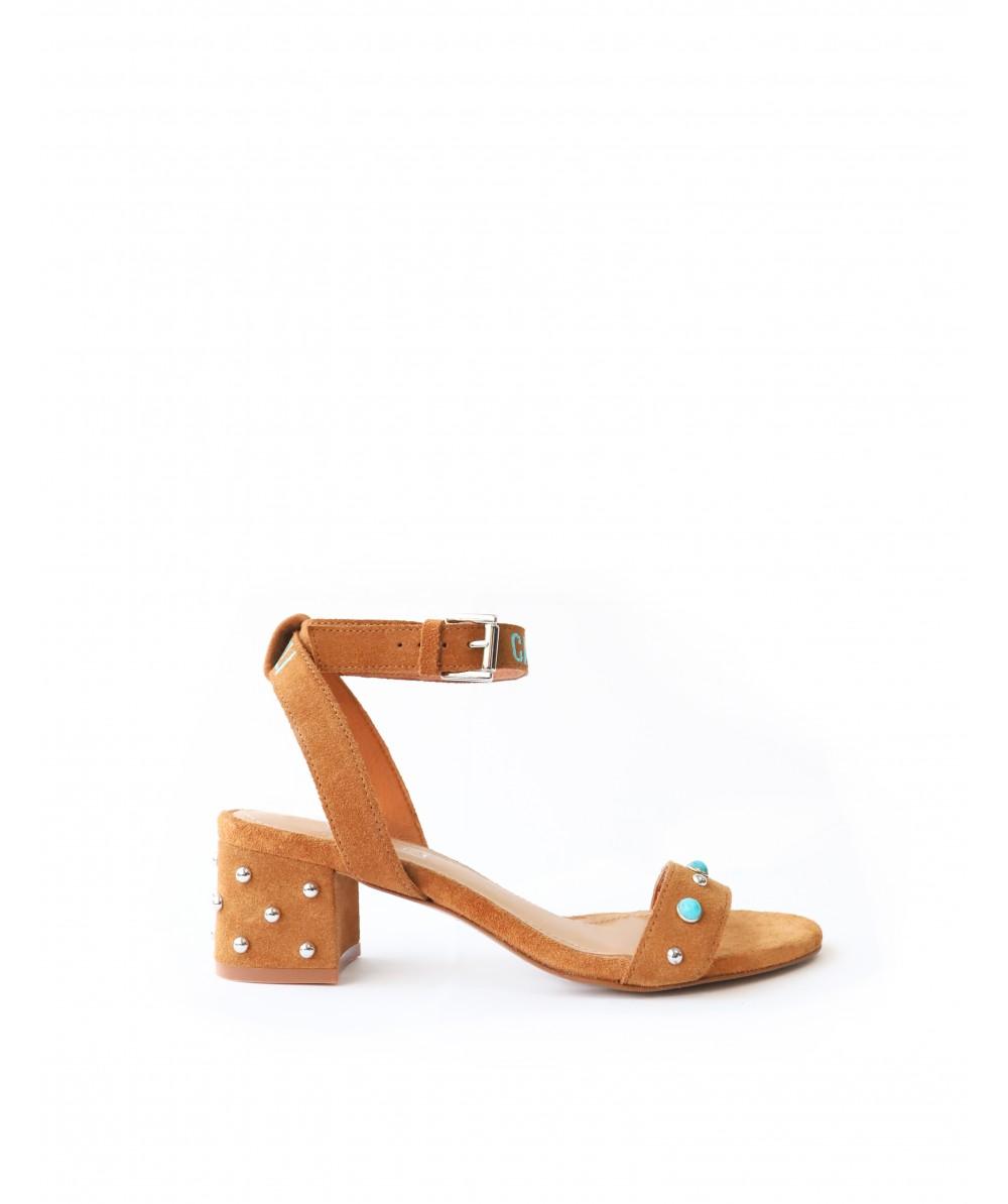 Capri Cognac Sandals