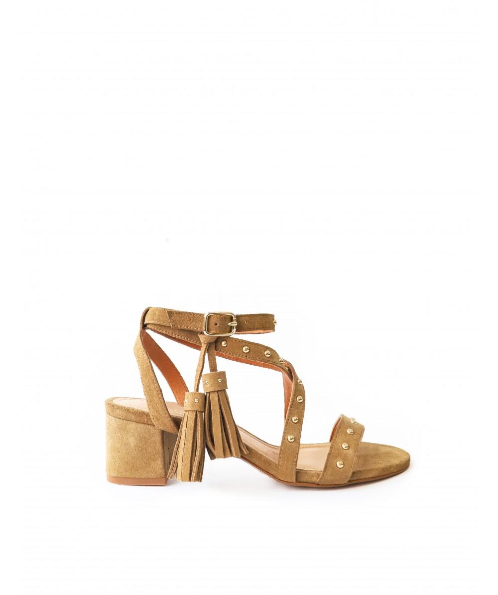 Chiara Cognac Sandals