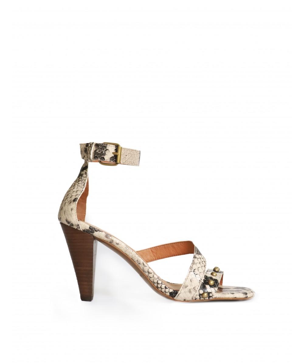 Naomi snake high heels