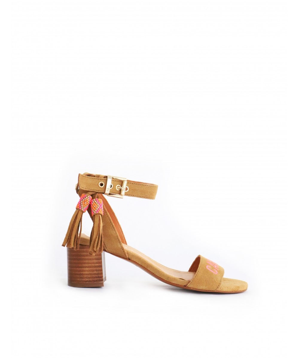 Coral Cecile heels