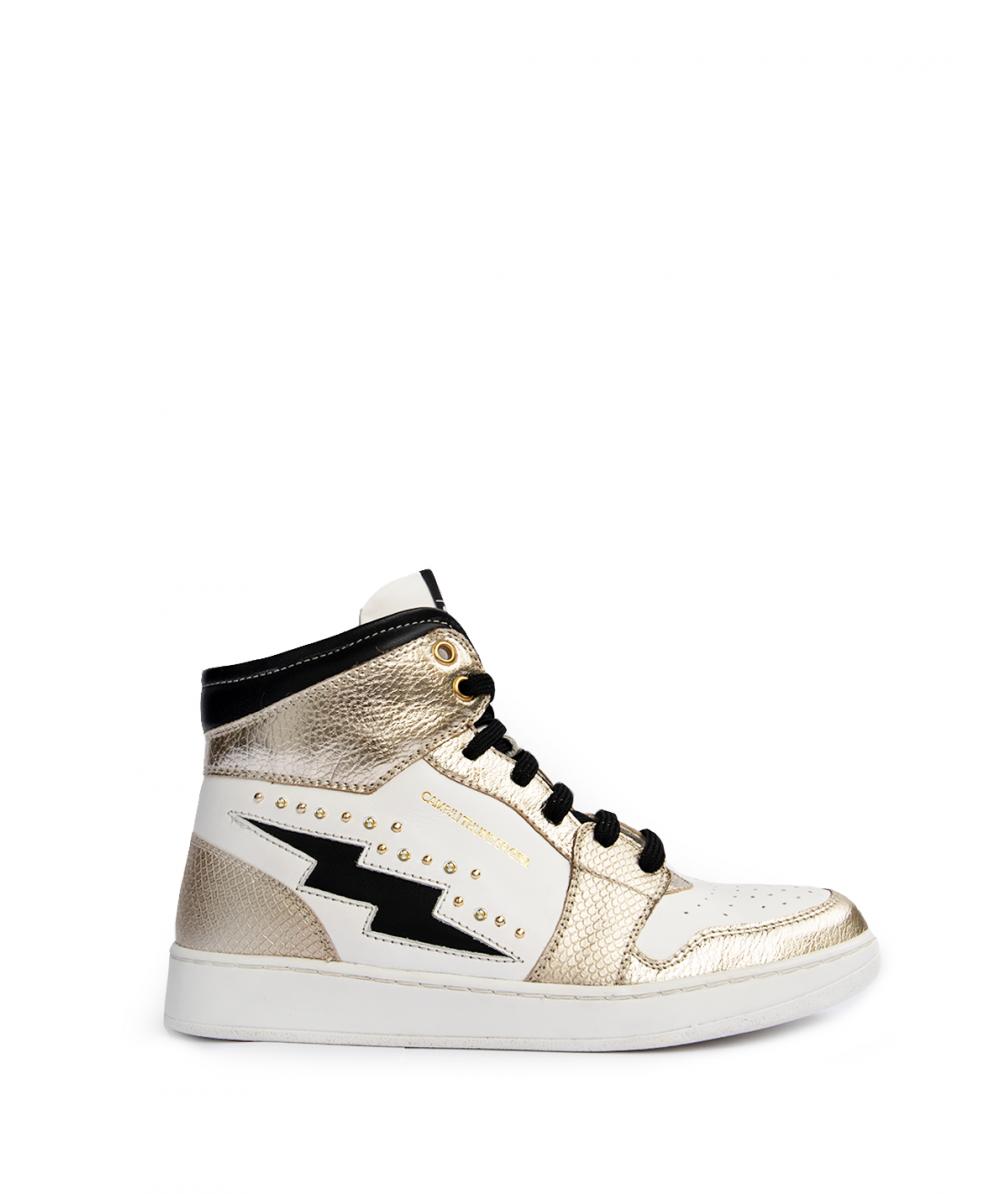 Sneakers Gold Basket