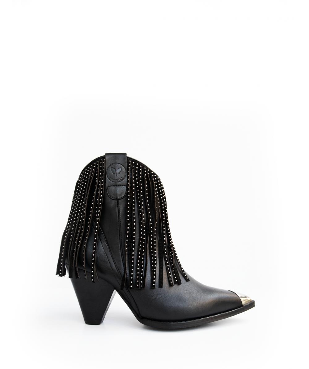 Texan boot black