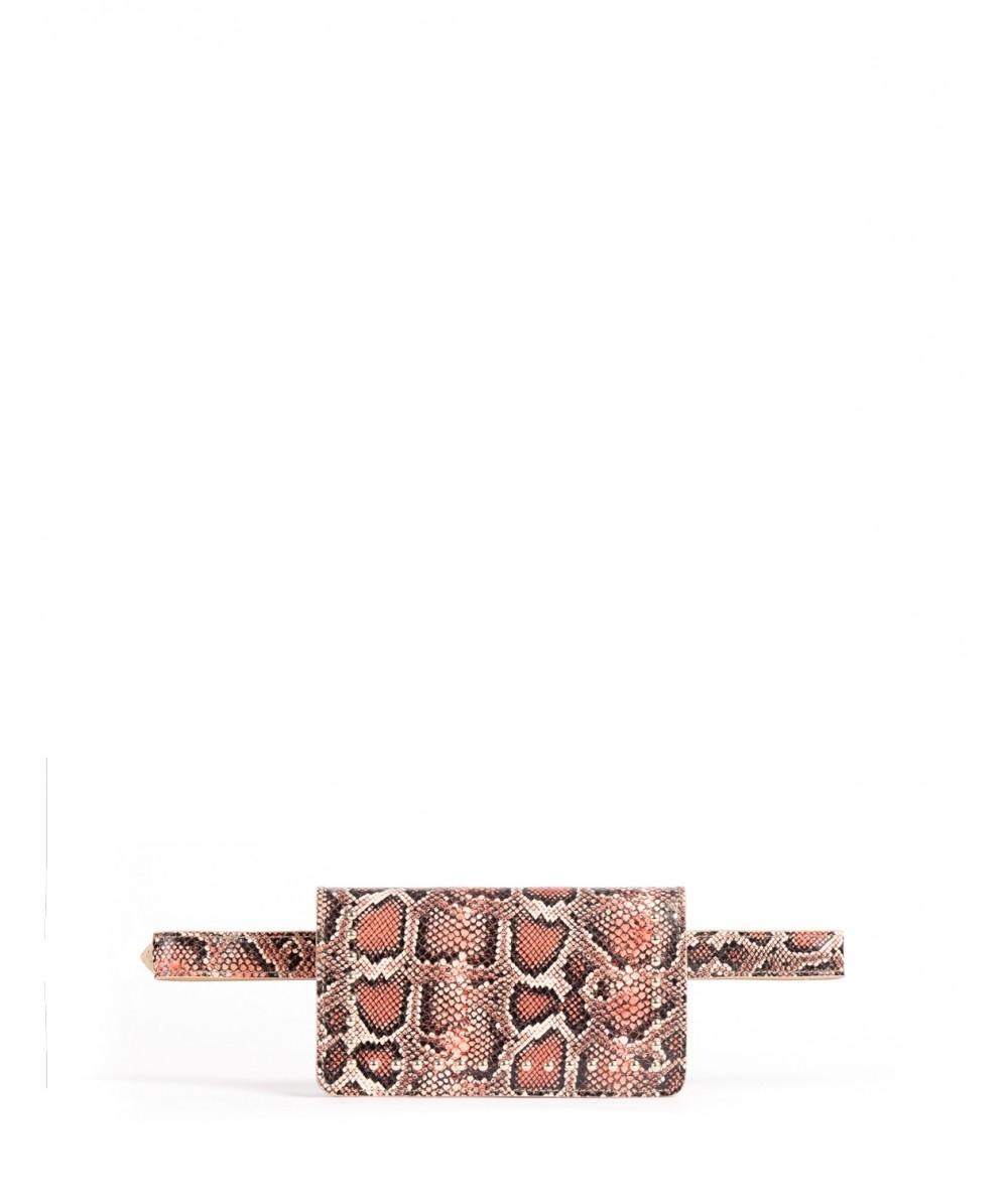 Red Boa Belt bag