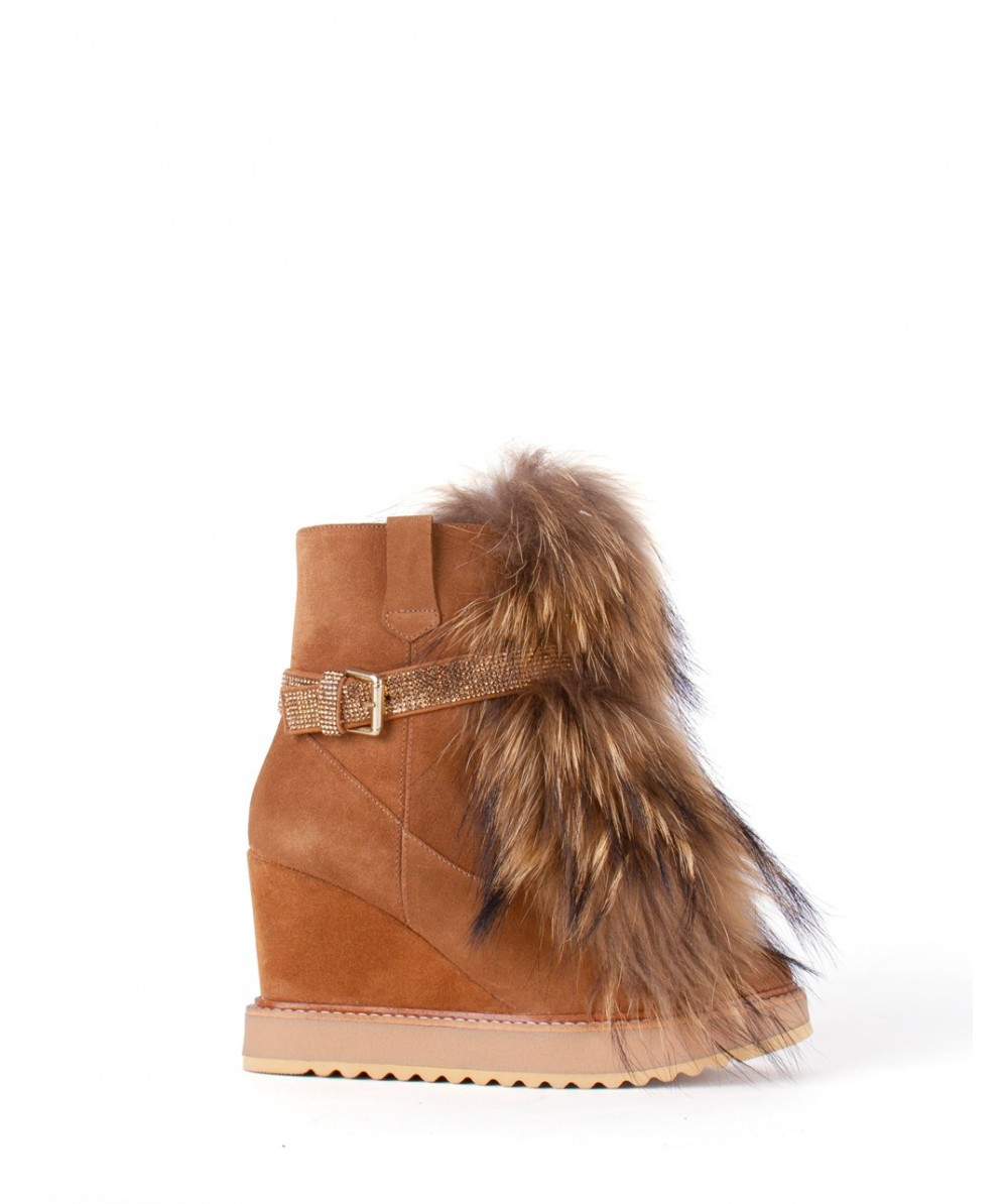 Irina raccoon boots