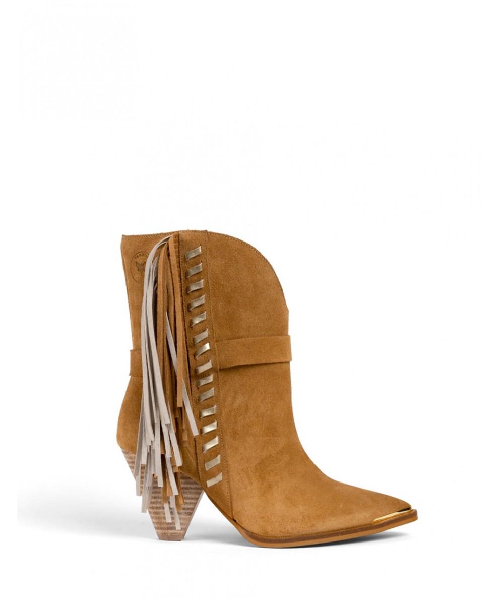 Ivana Gold heeled boots