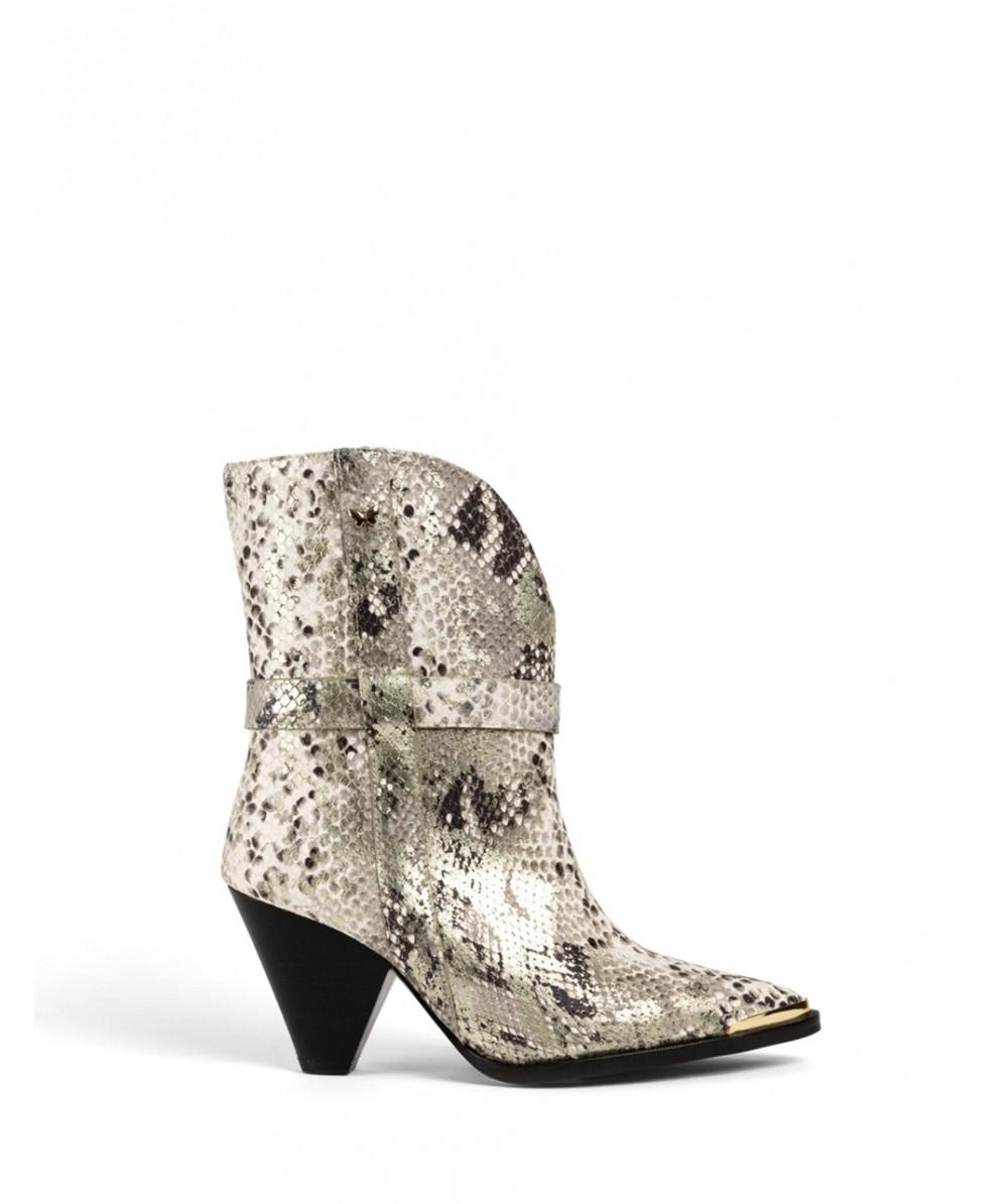 Ivana Pyton heeled boots
