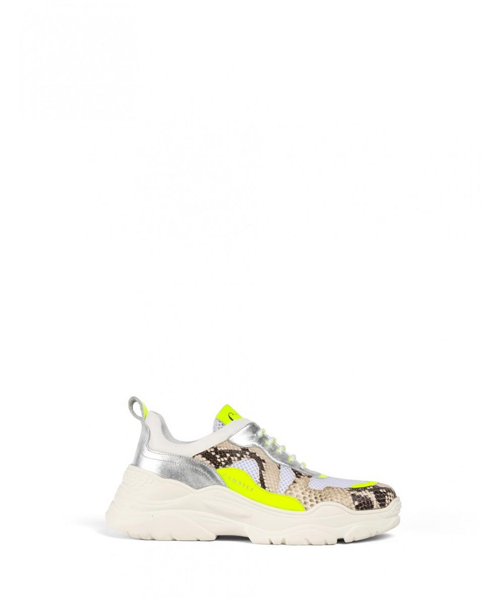 Neon Pyton Sneakers