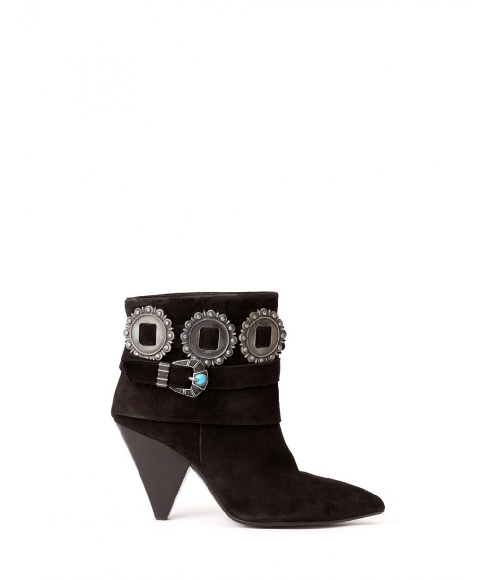 Dakota Black Ankle Boot