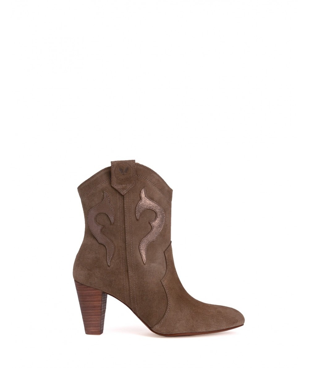 Coacheli Ankle Boot Taupe