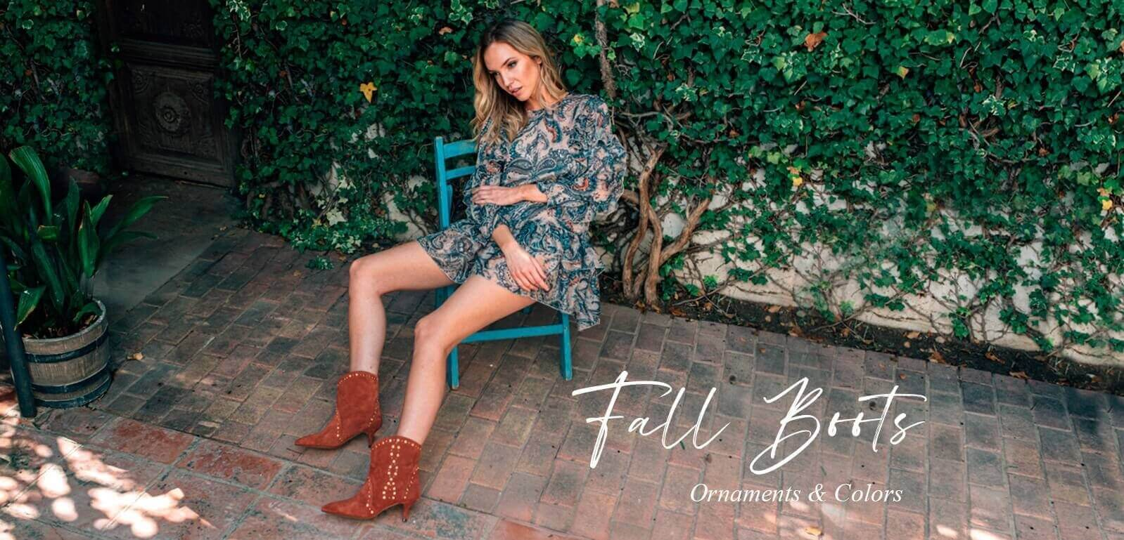 Fall Boots - Ornaments & Colors