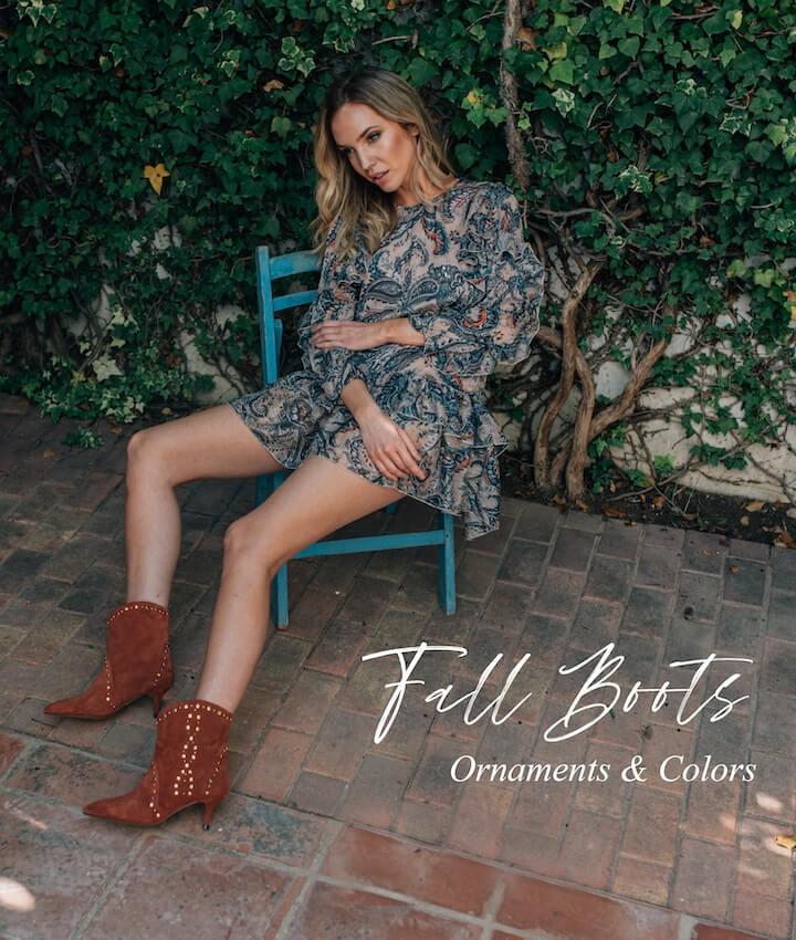 Fall Boots - Ornaments & Colors